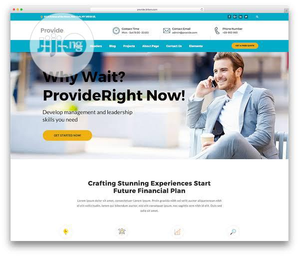 Business Website Design And Website Development | Computer & IT Services for sale in Ikeja, Lagos State, Nigeria