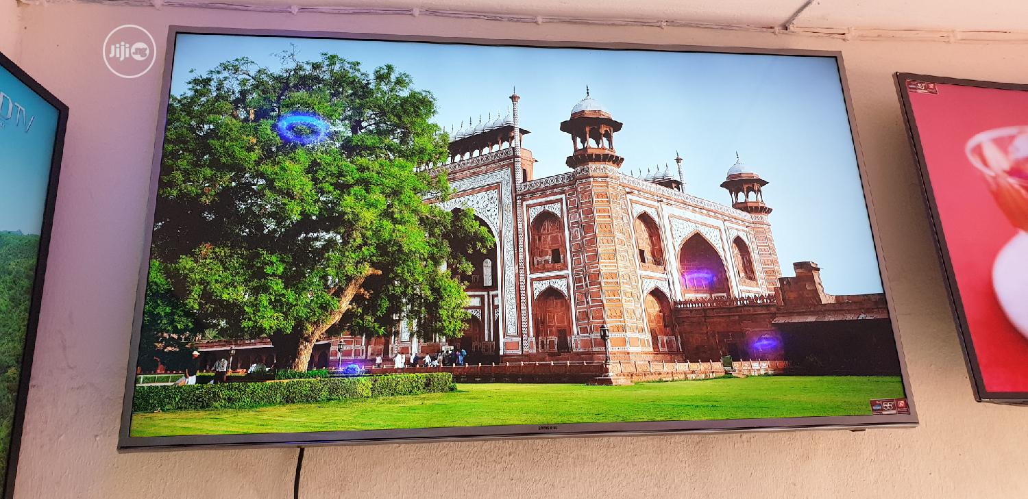 UHD 4K Samsung Smart Led TV 55 Inches | TV & DVD Equipment for sale in Ojo, Lagos State, Nigeria