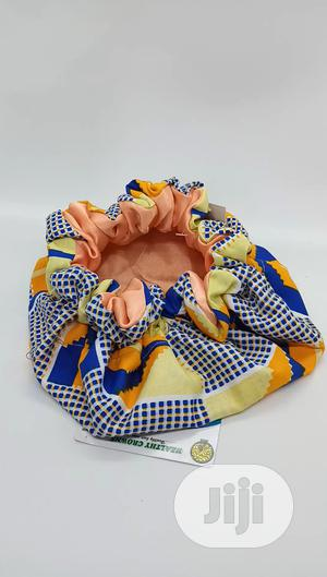 Kids Satin Bonnet(Ankara Satin Lined) | Clothing Accessories for sale in Abuja (FCT) State, Kubwa