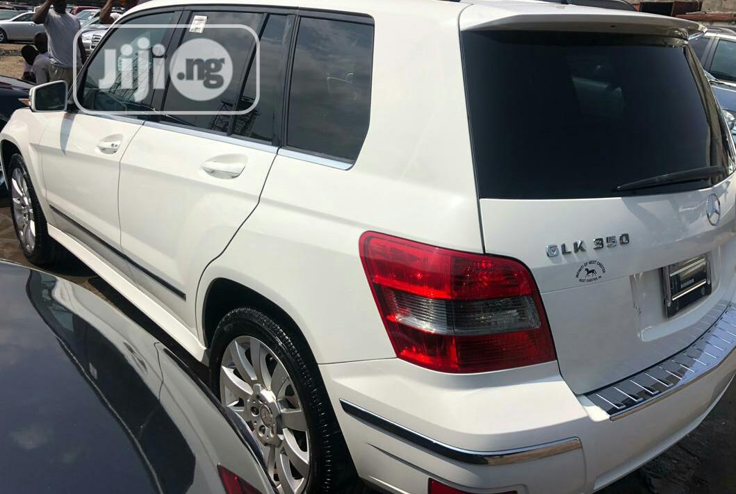 Mercedes-Benz GLK-Class 2011 350 4MATIC White | Cars for sale in Ikoyi, Lagos State, Nigeria