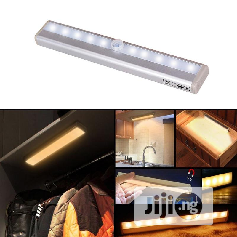 LED Motion Sensor Wardrobe Wardrobe Cabinet Warm White Light Night | Furniture for sale in Ikeja, Lagos State, Nigeria
