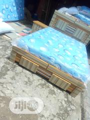 4by6 Bed-frame Wt Mattress | Furniture for sale in Lagos State, Ojo