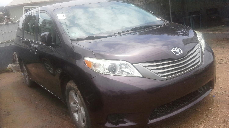Toyota Sienna 2011 7 Passenger Purple   Cars for sale in Ikeja, Lagos State, Nigeria