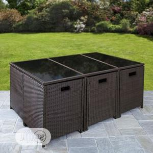 New Strong & Durable Indoor/Outdoor Rattan Table Furniture Piece, | Garden for sale in Lagos State, Ikeja