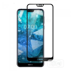 Full Tempered Glass Screen Protector for Nokia 7.1   Accessories for Mobile Phones & Tablets for sale in Lagos State, Ikeja