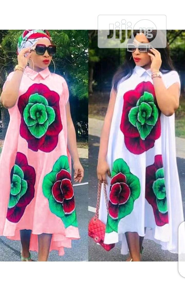 Ladies Pattern Long Dress