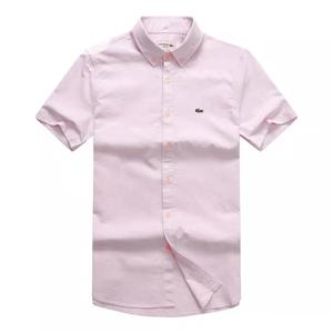 Lacoste Plain Shirt (Short Sleeve) | Clothing for sale in Lagos State, Lagos Island (Eko)