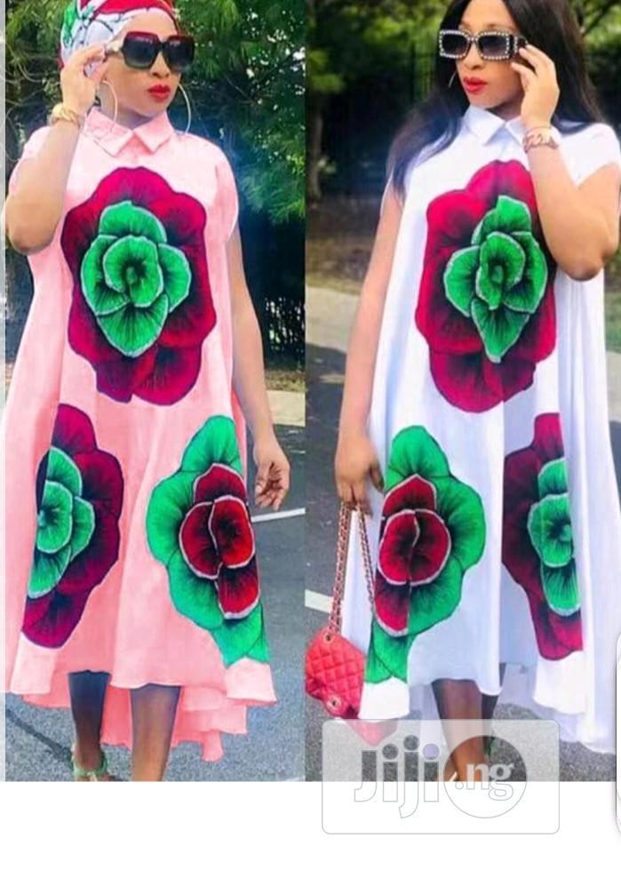 Ladies Pattern Long Dress | Clothing for sale in Ikeja, Lagos State, Nigeria