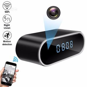 1080P HD WIFI Spy Camera Time Alarm Wireless Clock | Security & Surveillance for sale in Lagos State, Ikoyi