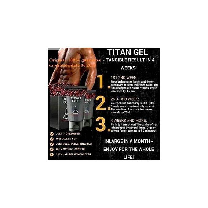 Titan Gel Men's Penis Enlargement | Sexual Wellness for sale in Ikeja, Lagos State, Nigeria