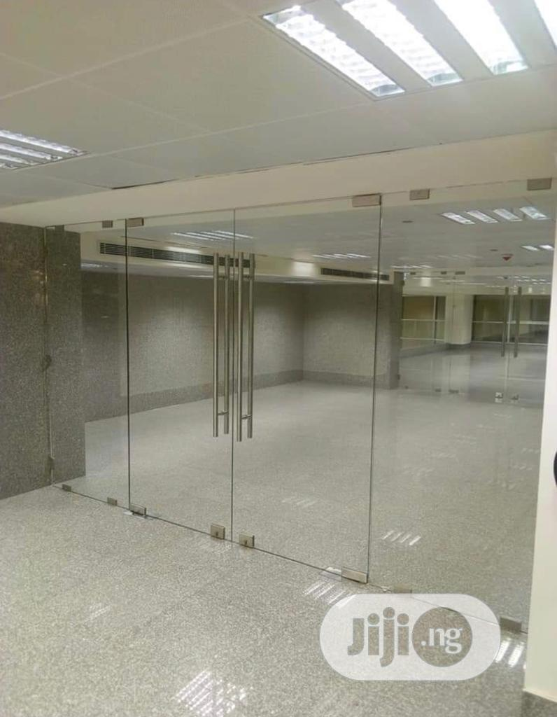 Office Partitioning Toilet Glass-cubicles And Railings