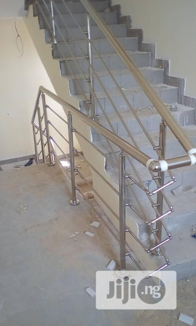 Office Partitioning Toilet Glass-cubicles And Railings   Building & Trades Services for sale in Lagos State, Nigeria