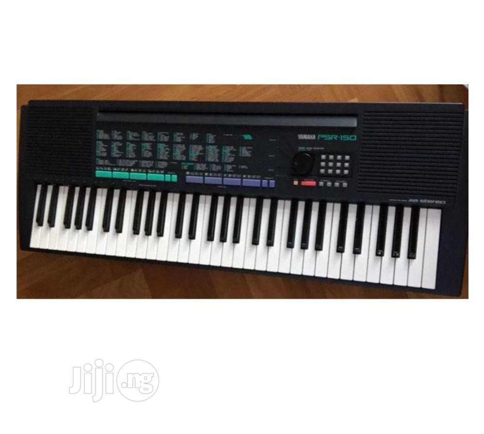 Archive: UK USED Yamaha PSR 150 Portatone Portable Keyboard-61-Keys
