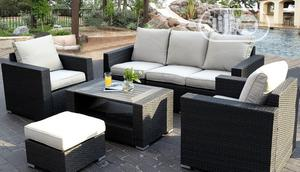 Charming Garden Rattan Sofa Furniture Set | Furniture for sale in Lagos State, Ikeja