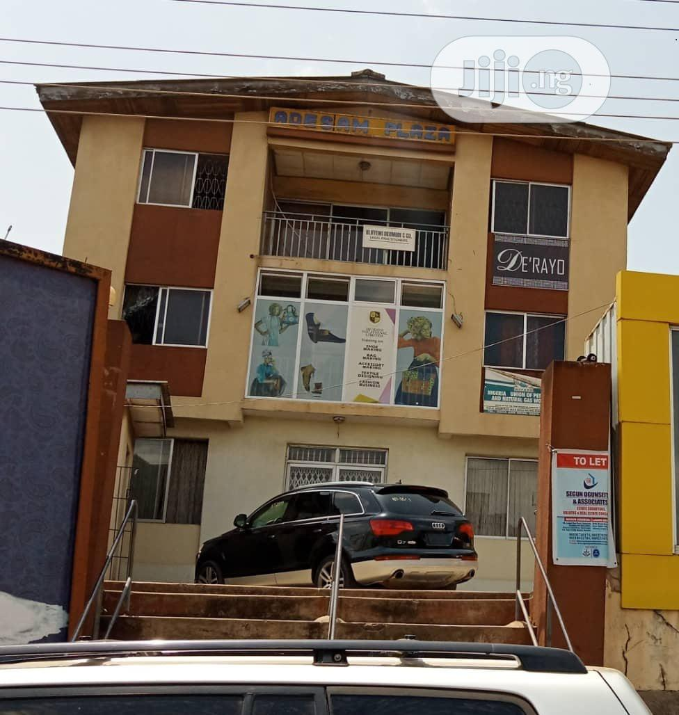 2 Storey Plaza With C Of O Of 6 Flats 2 Bedroom Along Ring Road Ibadan | Commercial Property For Sale for sale in Ibadan, Oyo State, Nigeria