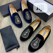 """Giovanni Conti Suede Loafers """"Black, Blue"""" 