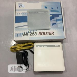 Zte Mf253 4G LTE Cpe Router for Ntel,Airtel,Mtn,9mobile Glo | Networking Products for sale in Lagos State, Ikeja