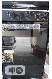Midea 4-burner Gas Cooker (50 X 55cm)- Silver | Kitchen Appliances for sale in Lagos State, Lagos Island