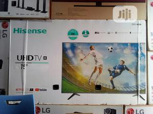 Hisense 75 Inches Smart 4k UHD Television   TV & DVD Equipment for sale in Lagos State, Ojo
