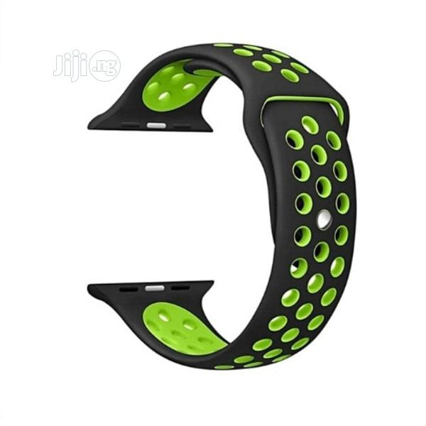 42-44mm Replacement Silicone Strap For Iwatch