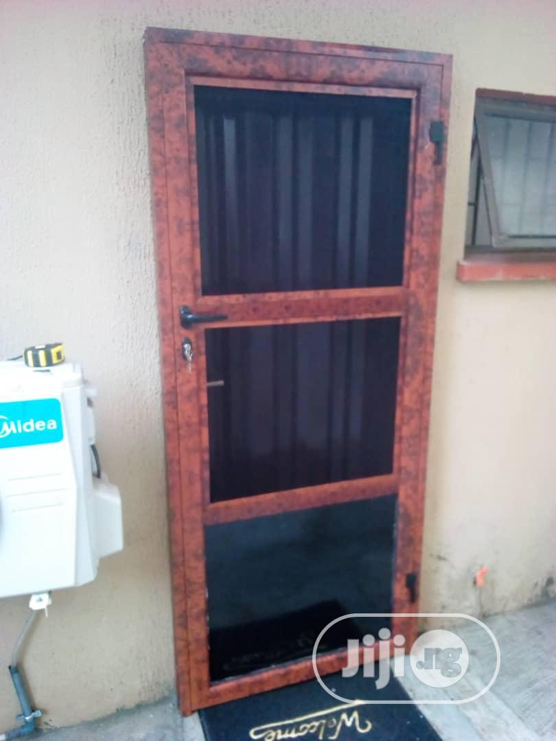Front Net Door   Doors for sale in Alimosho, Lagos State, Nigeria