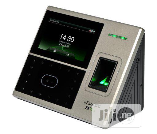 Zkteco Uface800 Fingerprint Time Attendance Access Control