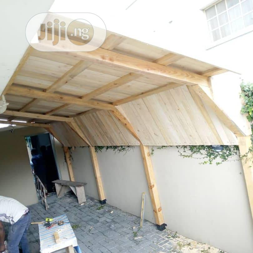 Newly Constructed Garden Bar. | Garden for sale in Alimosho, Lagos State, Nigeria
