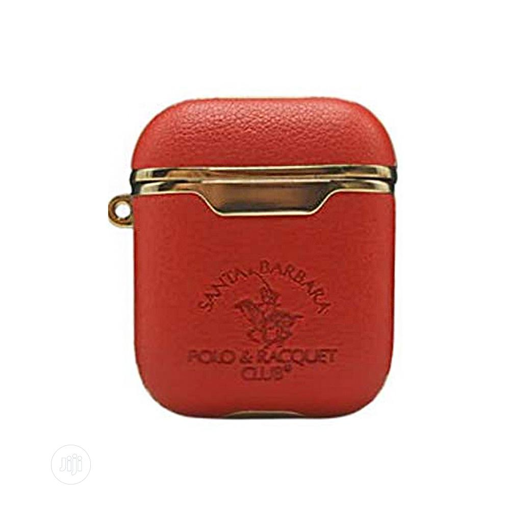Santa Barbara Polo Racquet Club Airpods Case