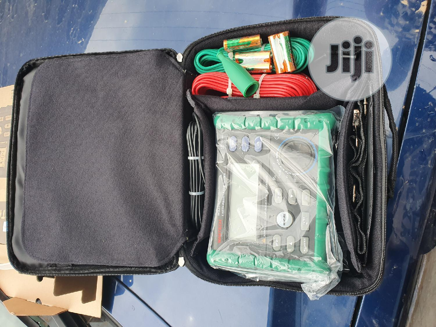 Mastech Ms2302 Earth Tester | Measuring & Layout Tools for sale in Ojo, Lagos State, Nigeria