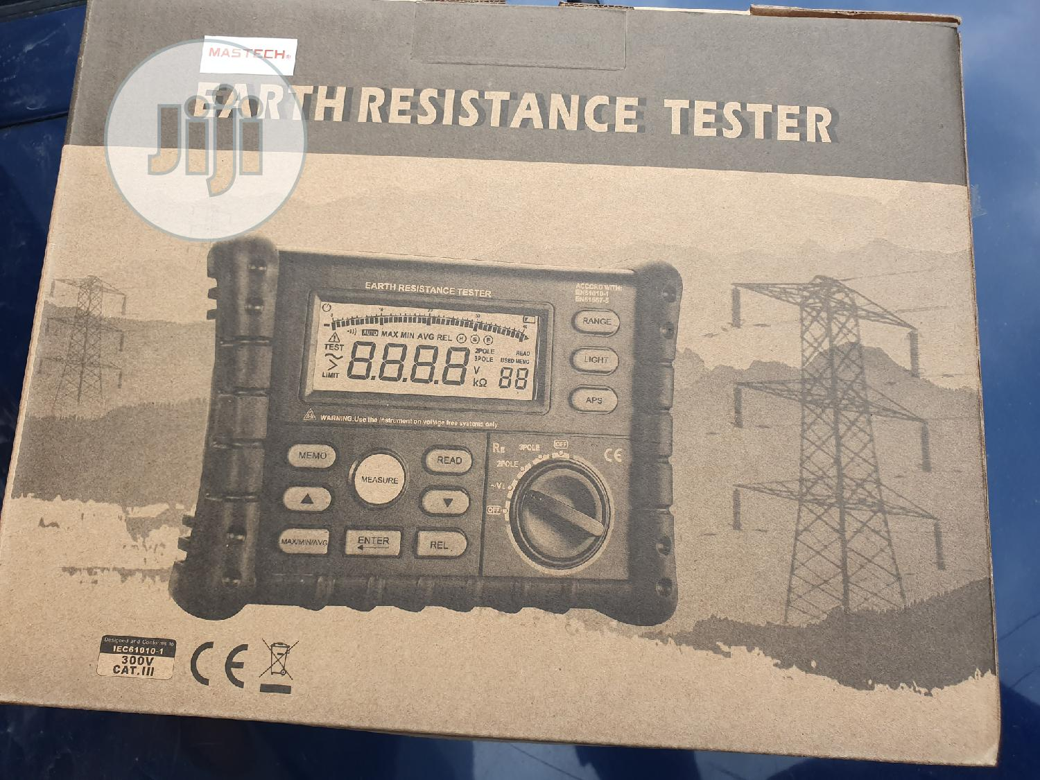 Mastech Ms2302 Earth Tester