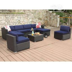Fabulous Outdoor Rattan Sectional Sofa Furniture Set | Furniture for sale in Lagos State, Ikeja