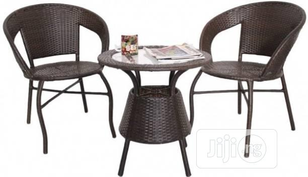 Delicate Rattan Outdoor Resting Chair