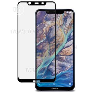 Tempered Glass Screen Protector for Nokia 7.1 Plus   Accessories for Mobile Phones & Tablets for sale in Lagos State, Ikeja