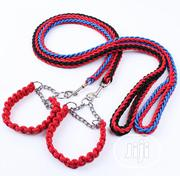 Twin Design Leash And Collar | Pet's Accessories for sale in Abuja (FCT) State, Kubwa