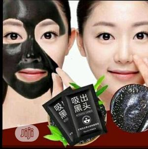 Organic Black Mask Nose Blackhead Acne Remover Peel Off Facial Masks | Skin Care for sale in Lagos State, Surulere