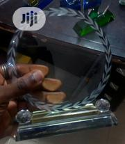 Crystal Award With Printing | Arts & Crafts for sale in Lagos State, Gbagada