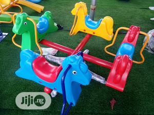 4 Sitters Outdoor Children Playground Merry Go Round | Toys for sale in Lagos State, Ikeja