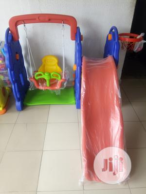 Children Playground Swing Set With Slide Basketball Hoop   Toys for sale in Lagos State, Ikeja