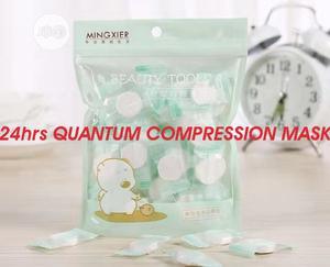Quik Whiten, Wrinkle, Pimple, Black Spot/Color Quantum Compresin Mask | Skin Care for sale in Enugu State, Enugu