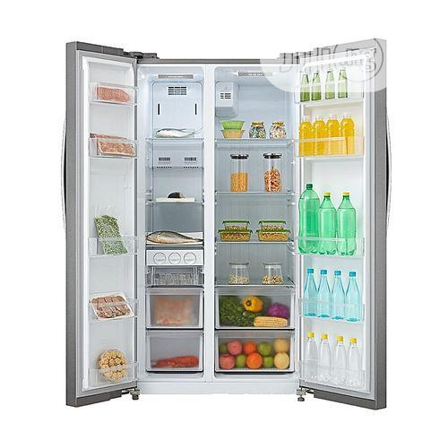 Midea Side By Side Refrigerator HC-689WEN | Kitchen Appliances for sale in Ojo, Lagos State, Nigeria