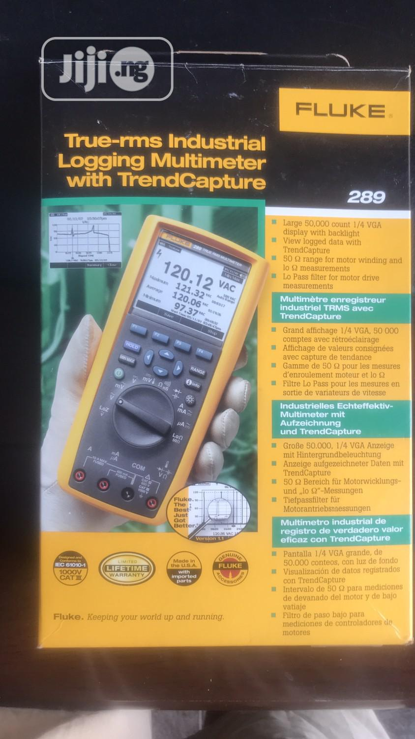 Fluke 289 True-rms Multimeter | Measuring & Layout Tools for sale in Ojo, Lagos State, Nigeria