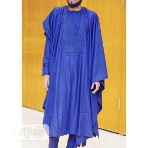 Men Agbada Native- Royal Blue   Clothing for sale in Lagos State, Ojodu