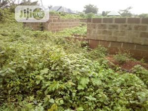A Plot of Land With Uncompleted Structure Olorundaba Ibadan | Land & Plots For Sale for sale in Oyo State, Saki West