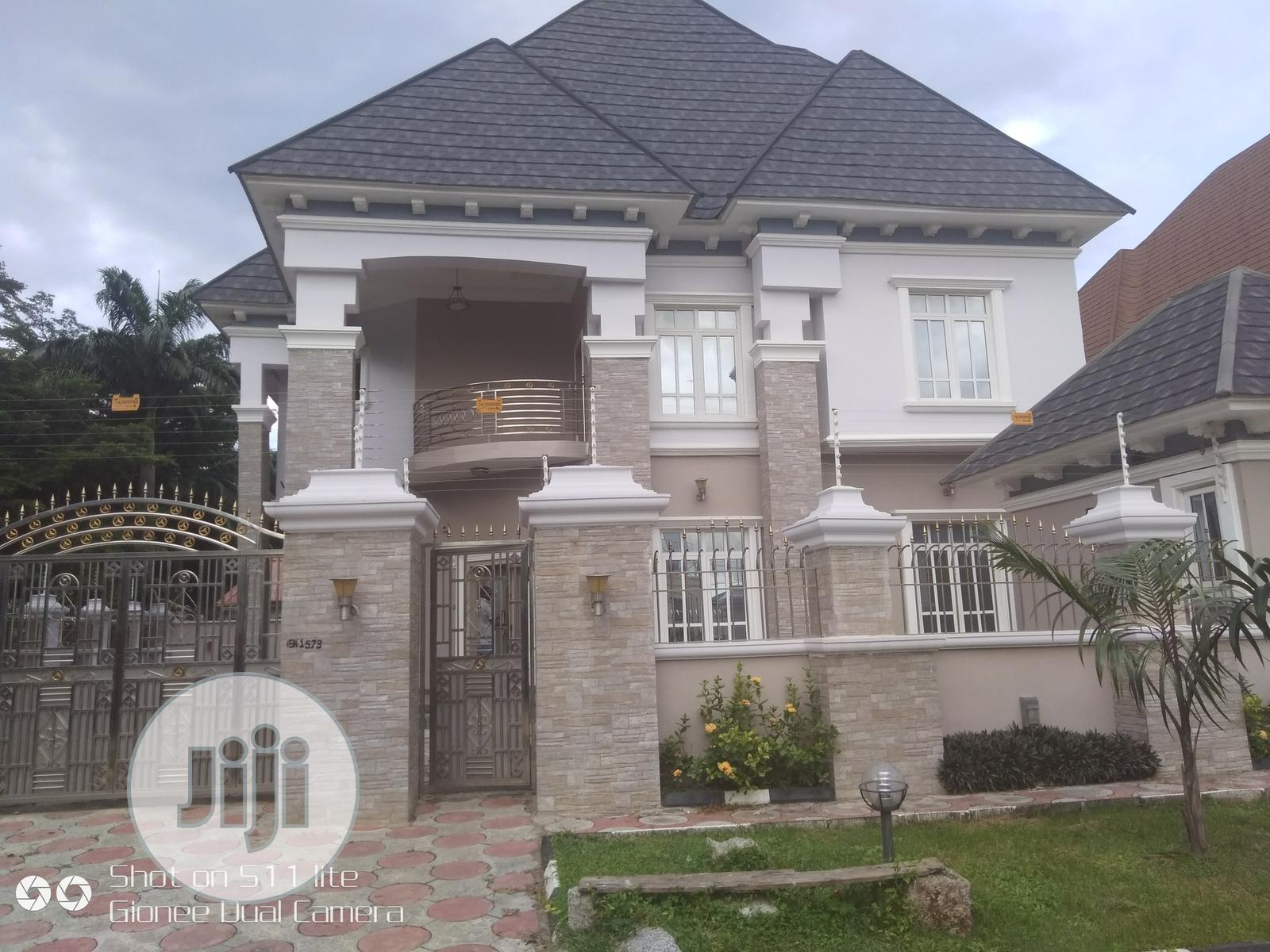 5 Bedroom Fully Detached Duplex With A Room Bq , Two Kitchen