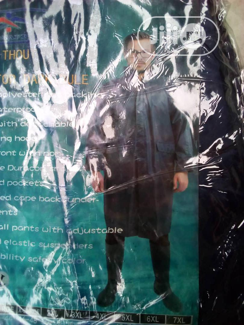 Rain Coat Blue Color Reflective | Safetywear & Equipment for sale in Ojo, Lagos State, Nigeria