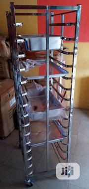 Stainless Oven Rack Trolley | Restaurant & Catering Equipment for sale in Lagos State, Ojo