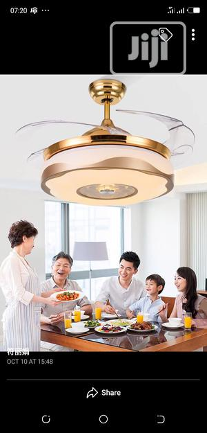 Crystal Chandelier Ceiling Fan With Remote Control | Home Accessories for sale in Lagos State, Badagry