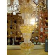 Win Empire Crystal Chandelier Chandeliers Lighting {WHITE AND GOLD | Home Accessories for sale in Kaduna State, Kaduna