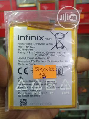 Original Infinix S3/S3X(X622) In-buit Battery