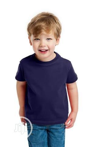 Plain T-shirt For Children Wholesale Price